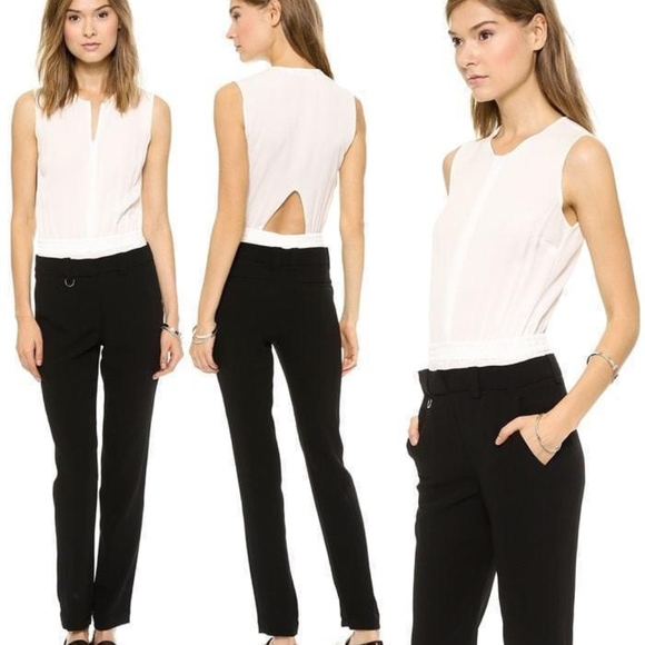 A.L.C. Dresses & Skirts - A.L.C. Black & White North Jumpsuit